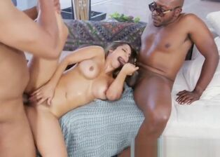 Black dick threesome